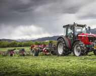 "Massey Ferguson: riflettori puntati su MF 5713 S Next Edition e MF 3709 in versione ""Alpine"""
