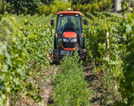 Kubota: M5001 Narrow, giapponesi superstar anche tra i filari