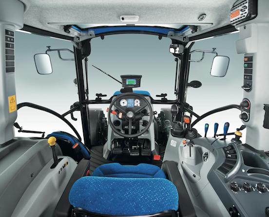 Pi potenza e dotazioni per i nuovi t4 di new holland for Veterinario di punto di cabina