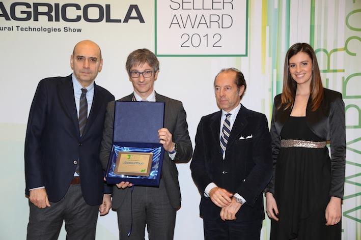 Landini due volte sul podio al Best Seller Award 2012