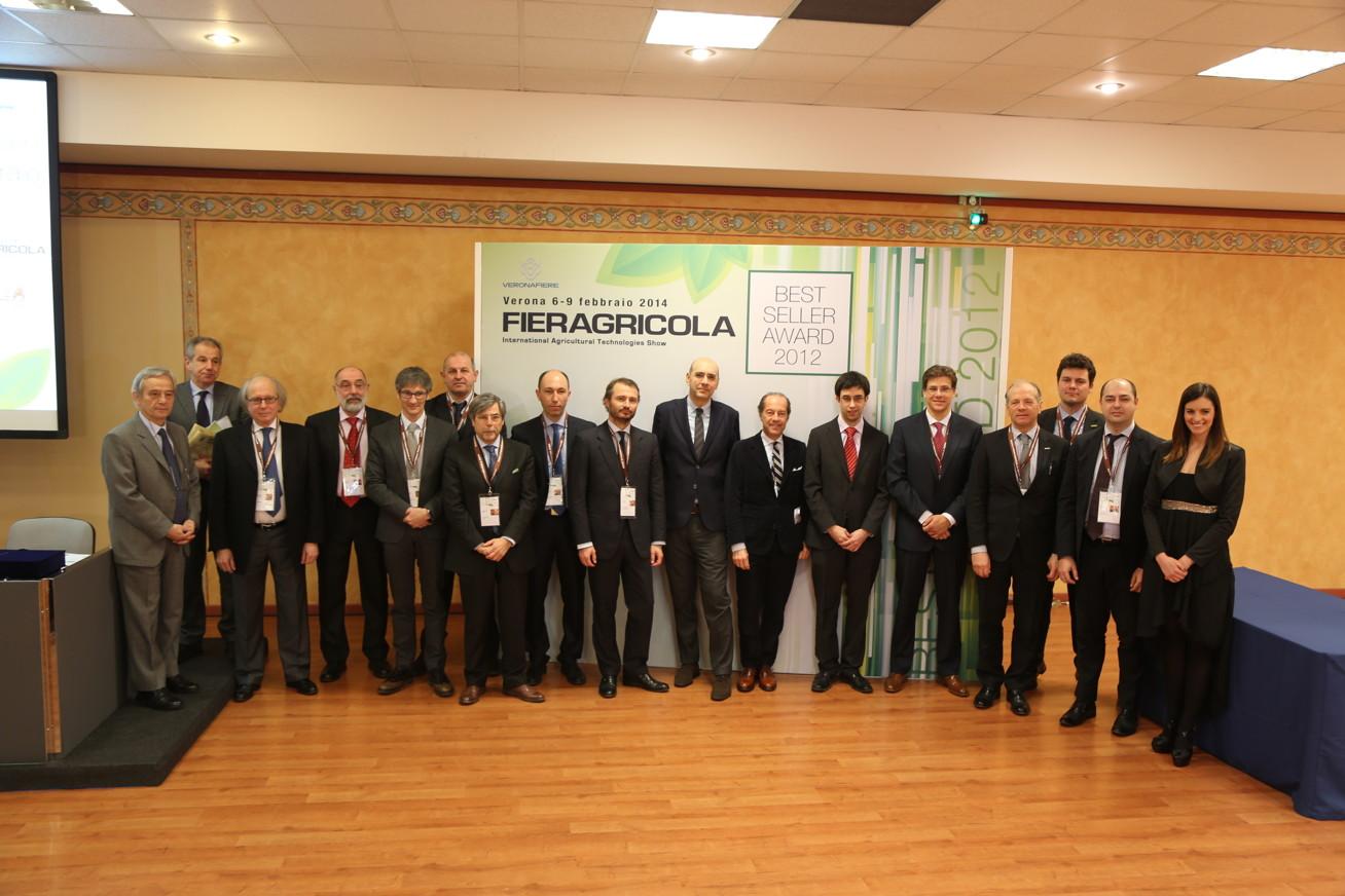 Best Seller Award 2012: Fieragricola premia i trattori più venduti
