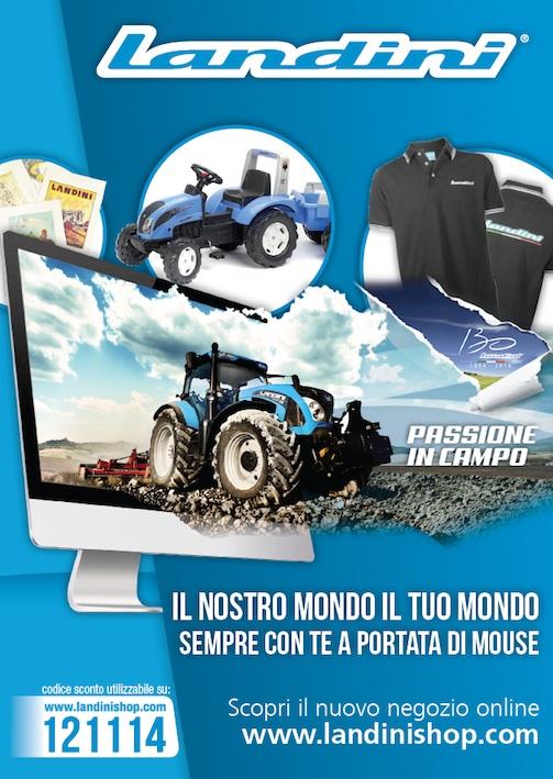 la vendita di scarpe vendita più economica negozio online Landini: tanti nuovi gadget, in vendita anche on line