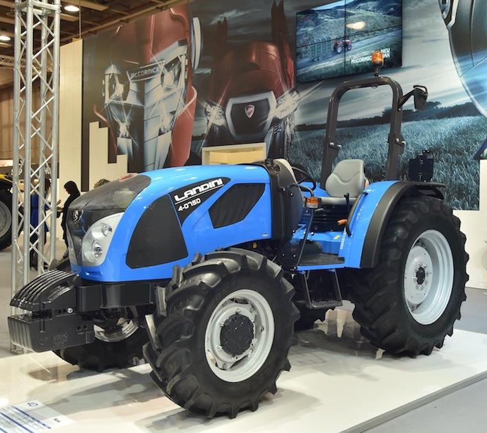Landini: nuova serie 4D, i successori dei Technofarm