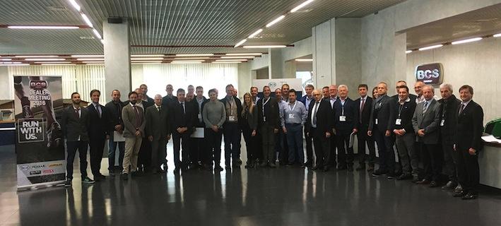 Bcs: la nuova serie K105 al centro del Dealer Meeting del Gruppo