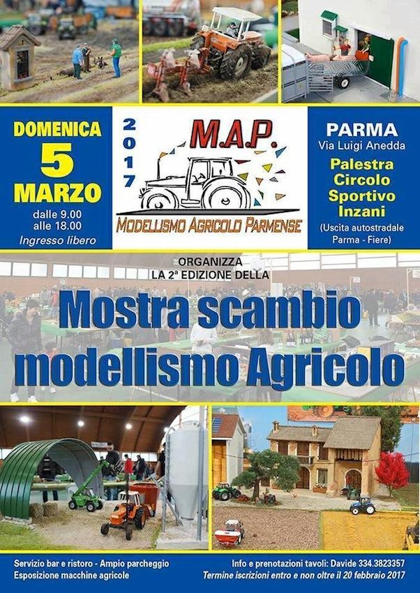 Calendario Mostre Scambio.Mostra Scambio Modellismo Agricolo A Parma Il 5 Marzo