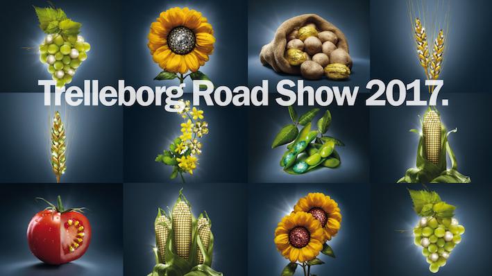 Trelleborg Road Show 2017: partito dalla Spagna, attraverserà l'Europa
