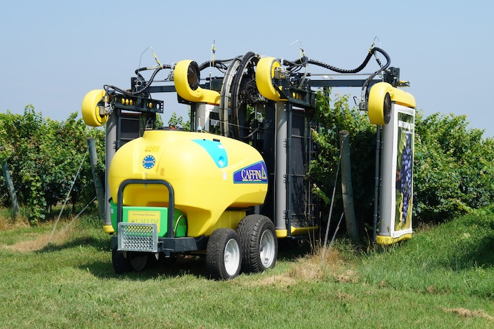 """Caffini: """"Technology and Ecology """" a Enovitis in campo 2017"""