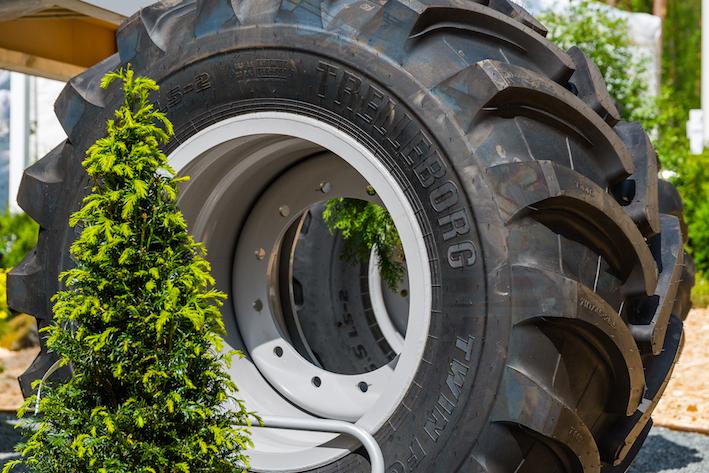Trelleborg: presentata a Elmia Wood la nuova gamma Twin Forestry