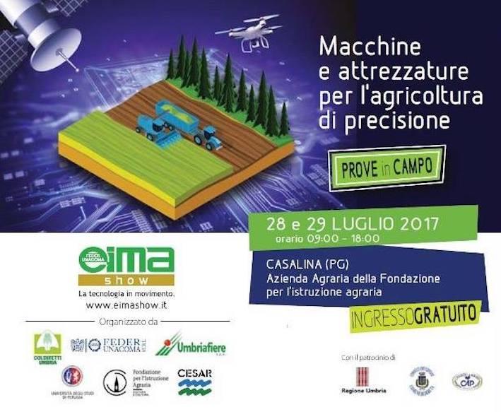 """Eima Show 2017: una """"full immersion"""" nell'agricoltura di precisione"""