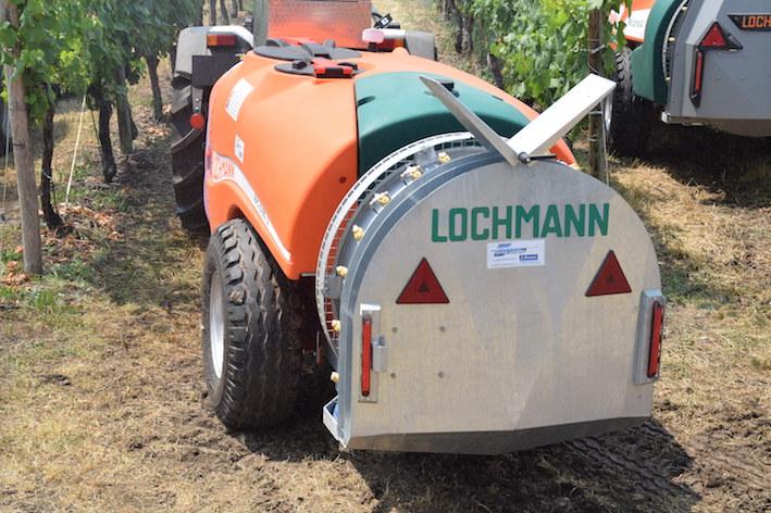 Lochmann: atomizzatore trainato RPS 10/80UQW2, per i vigneti a spalliera