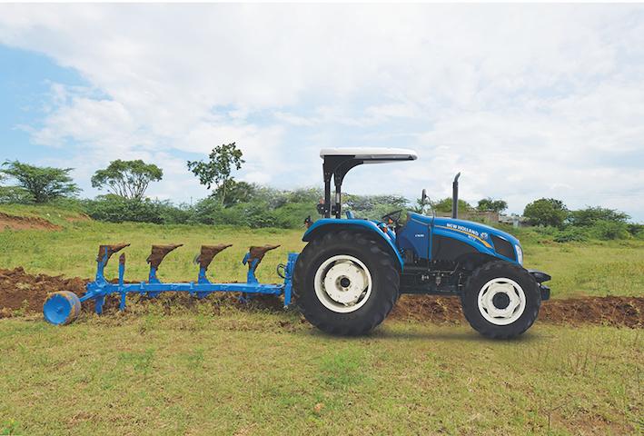 New Holland: alto gradimento in India per i trattori giallo-blu