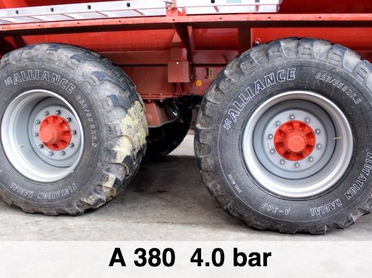Atg 389 VF, massimo rispetto del terreno agrario