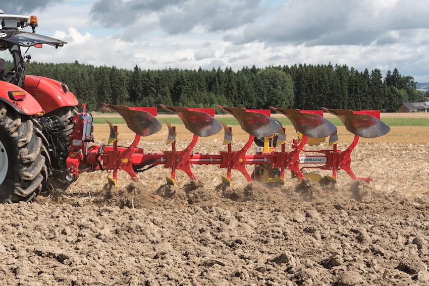 Pöttinger: nuovi aratri portati Servo 45 M