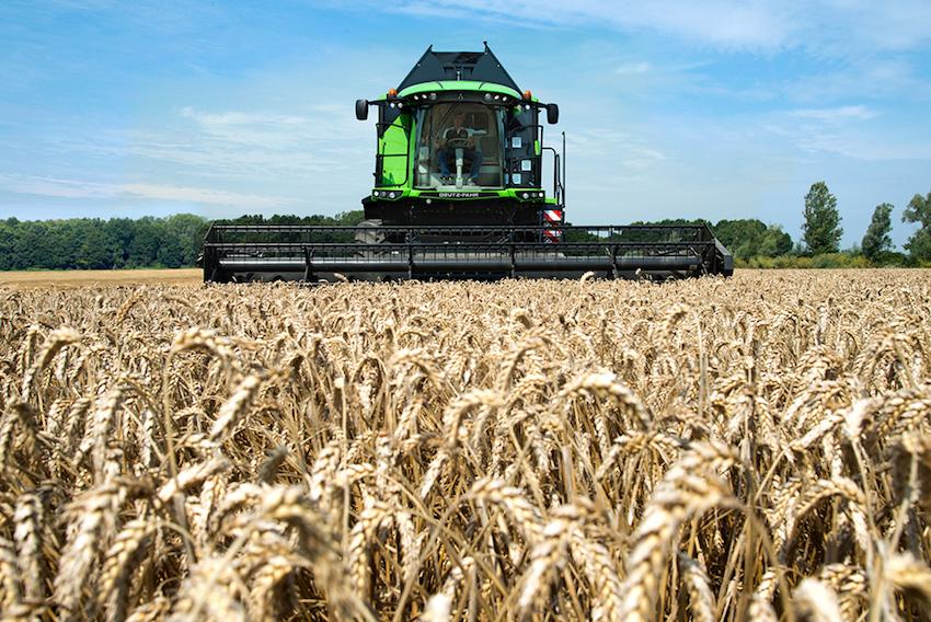 Deutz-Fahr: mietitrebbia C9206 TS, ottime prestazioni anche sul riso