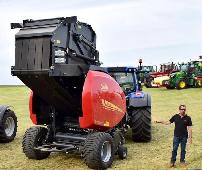 Kverneland Group: la precision farming entra nella fienagione