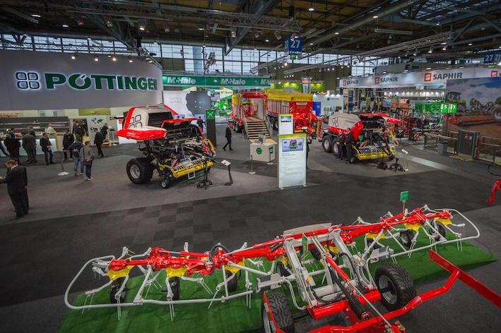 Pöttinger ad Agritechnica 2017, guardando al futuro
