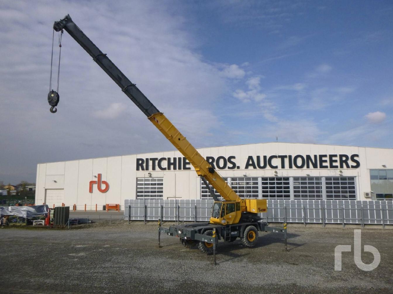 Ritchie Bros.: tutto pronto per l'asta del 5 Dicembre