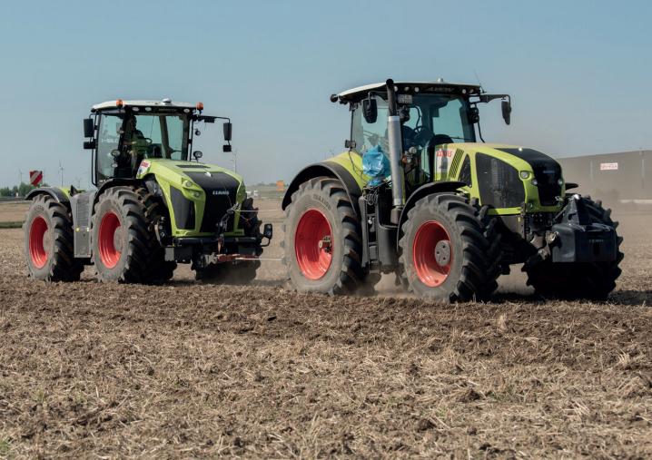 Vredestein lancia Traxion Optimall, per i trattori di alta potenza