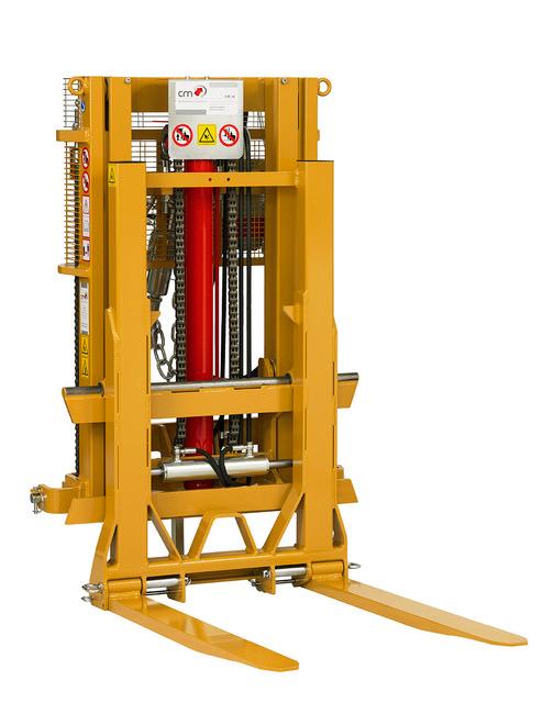 CM amplia la gamma degli elevatori con il nuovo modello 16THAD