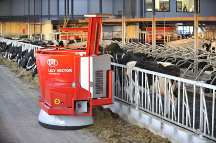 Lely: 500 sistemi Vector installati confermano il successo dell'alimentazione automatica