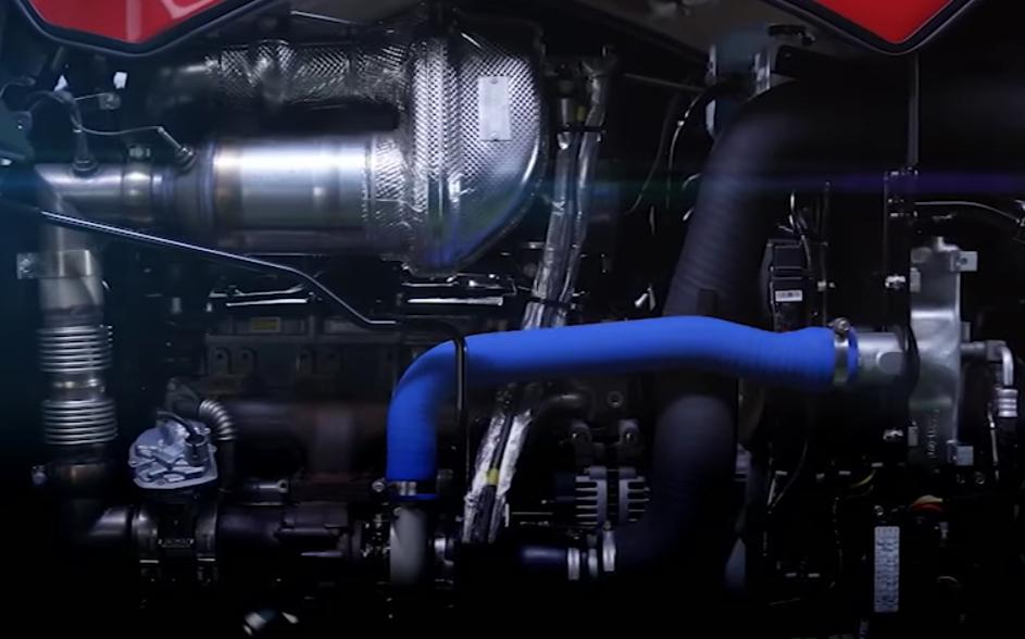 Mitsubishi Mahindra GCR 1380,  il mega-cingolato che non ti aspetti