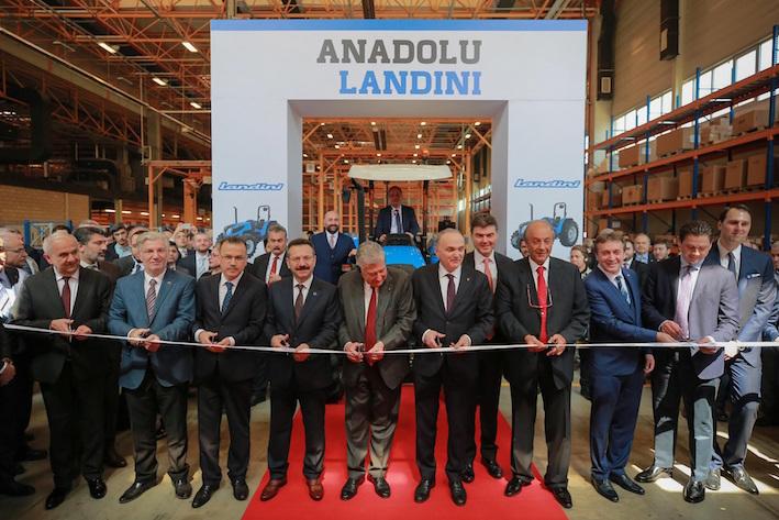 Argo Tractors: inaugurato in Turchia il nuovo sito produttivo di Anadolu Landini