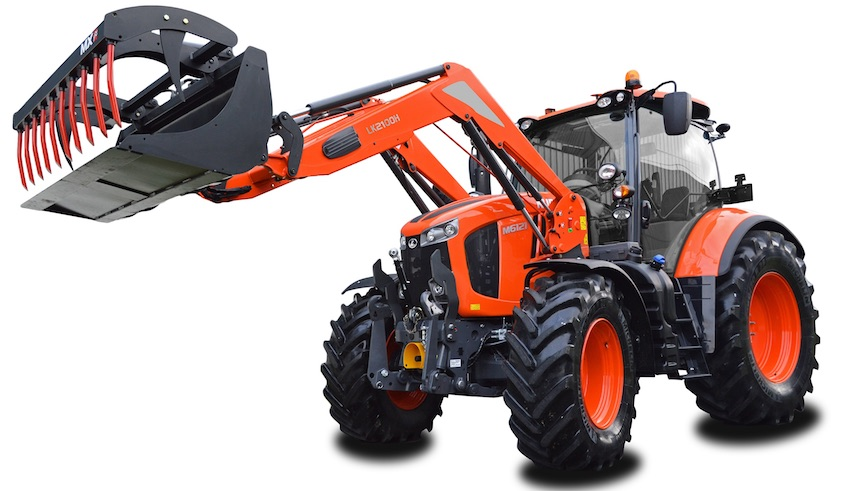 Kubota: anteprima al Fima per il nuovo modello M6121 e la nuova serie M4002