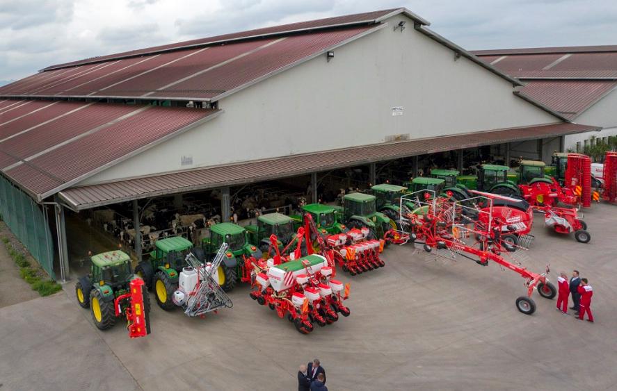 Maschio Gaspardo: la Società agricola Zilio inaugura il progetto Model Farm