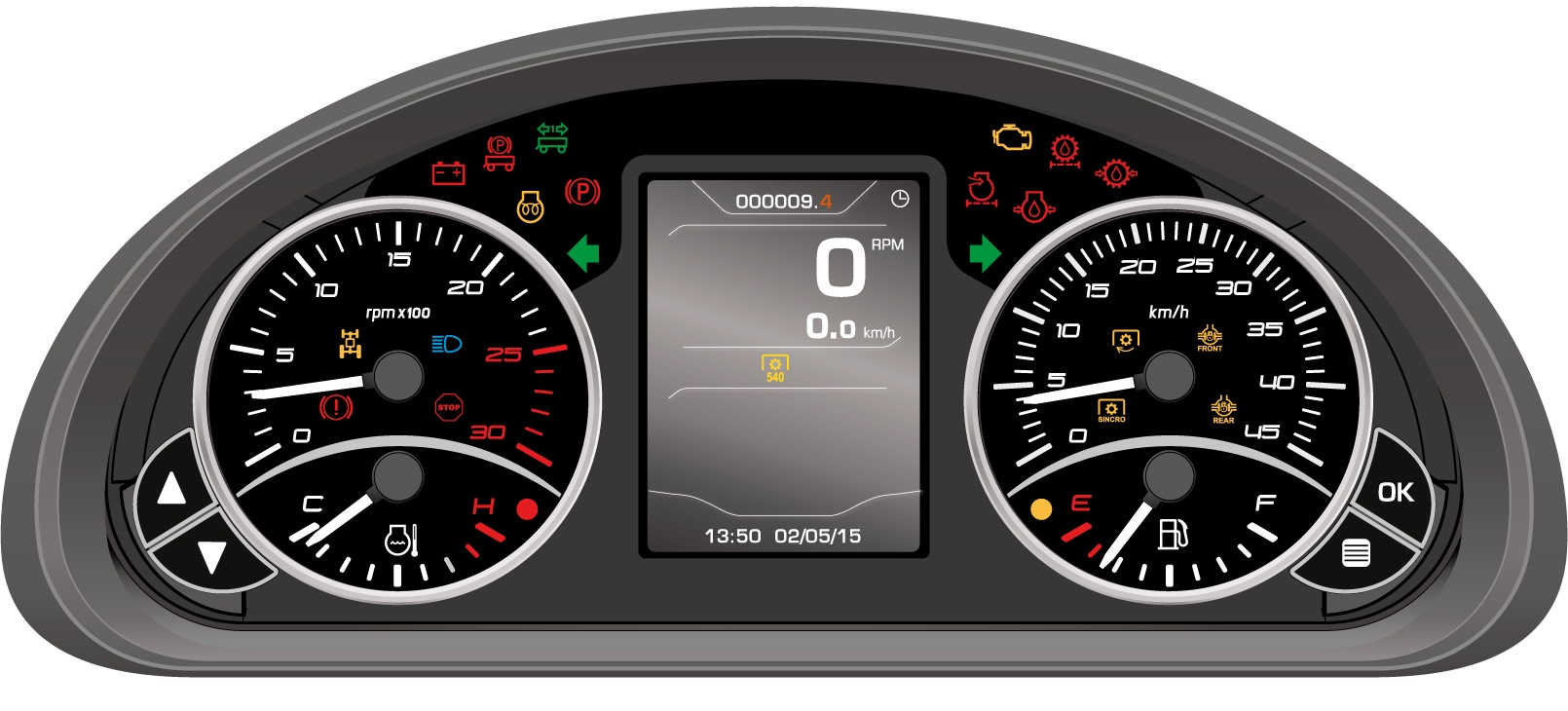 Bcs: nuovo Volcan L80 versione Dualsteer®, l'isodiametrico del futuro