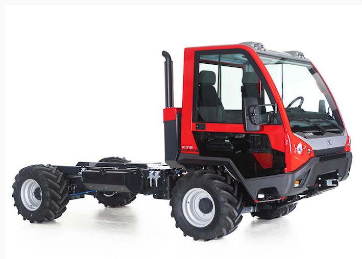 Caron: il rinnovato transporter top di gamma CTS 110, motorizzato Euro 6