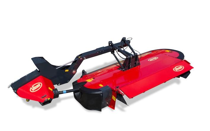 Vicon: nuove falciacondizionatrici Extra 700, con rivoluzionarie sospensioni QuattroLink
