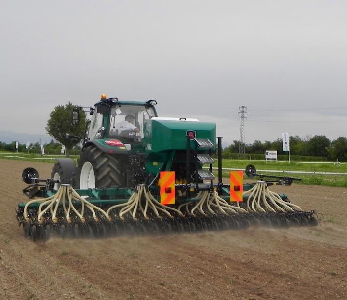 Arbos Green Campus 2018: meccanizzazione e agronomia vanno a braccetto