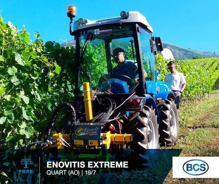 Bcs a Enovitis Extrême: grande agilità e manovrabilità nelle condizioni più difficili