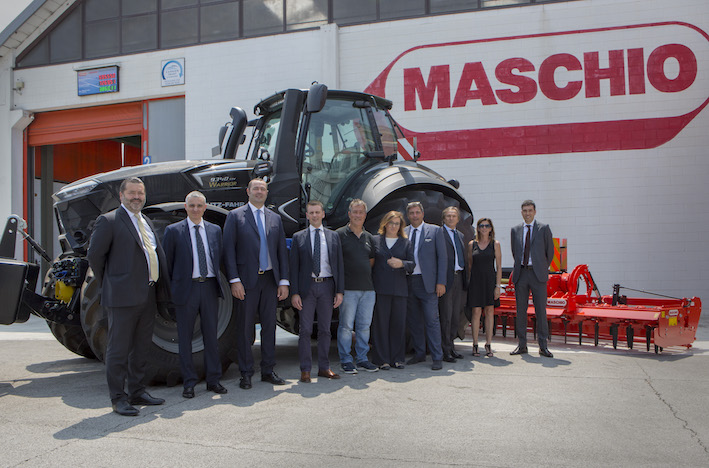 Un Deutz-Fahr 9340 TTV Warrior entra in casa Maschio Gaspardo