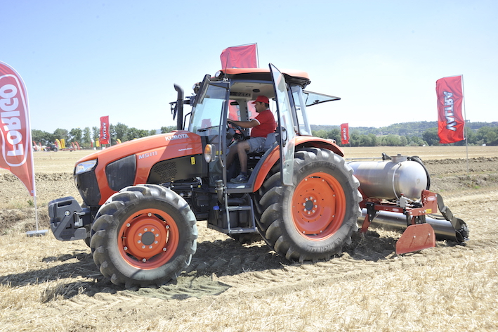 Eima Show: macchine e sistemi per l'agricoltura di precisione in campo a Casalina di Deruta (PG)