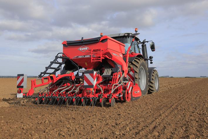 Kuhn: nuove combinate di semina Venta