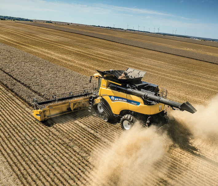 New Holland: nuovi traguardi per le mietitrebbie CR Revelation