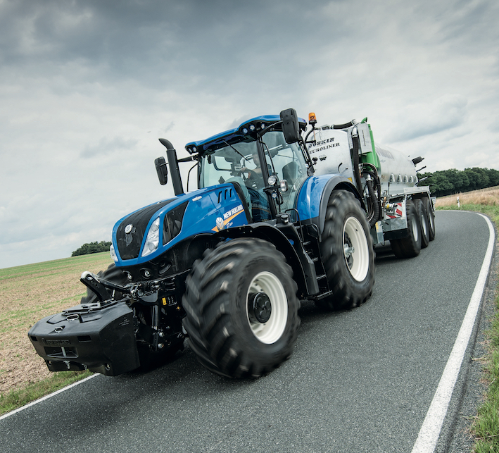 New Holland: sistema di frenatura intelligente del rimorchio sui T7 e T6 AutoCommand