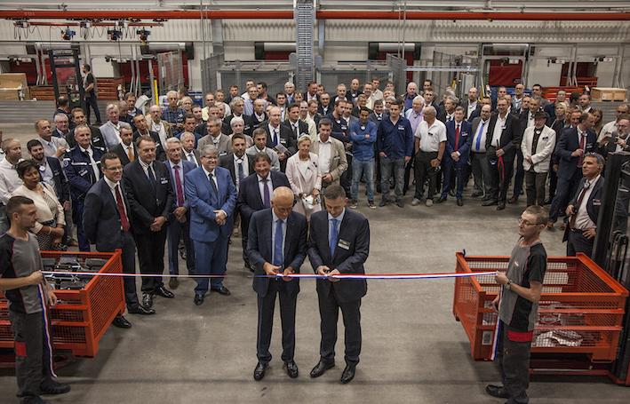 Kuhn inaugura a Saverne il nuovo Centro logistico e si espande a Monswiller
