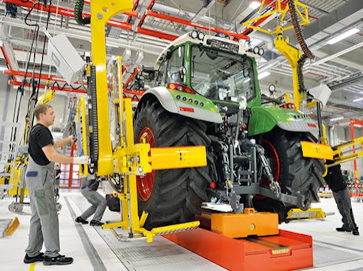 Macchine agricole: crescita record dell'industria tedesca nel primo semestre