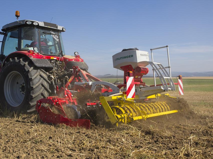 Pöttinger: Tegosem, per la semina delle cover crop