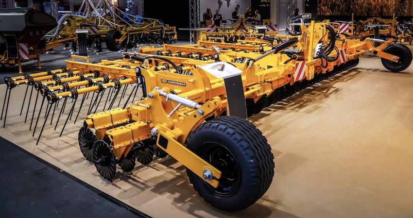 Agrisem: nuove attrezzature per la lavorazione ultra-superficiale, a velocità elevate