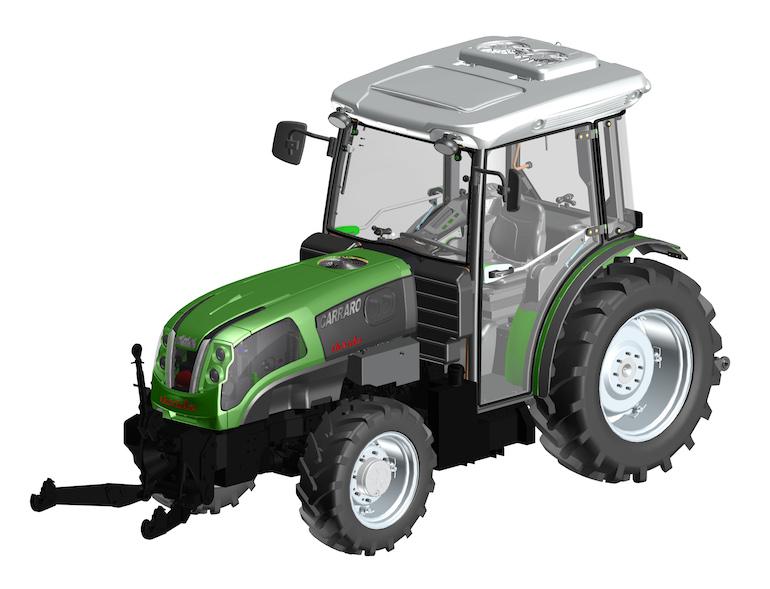 Carraro Tractors: debutta all'Eima lo specializzato ibrido, già pluripremiato