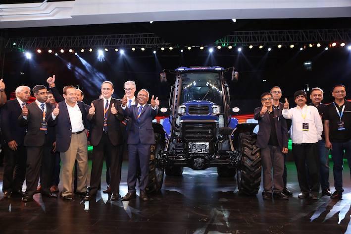 """Escorts: svelato a Esclusive 2018 il primo trattore a guida autonoma """"made in India"""""""