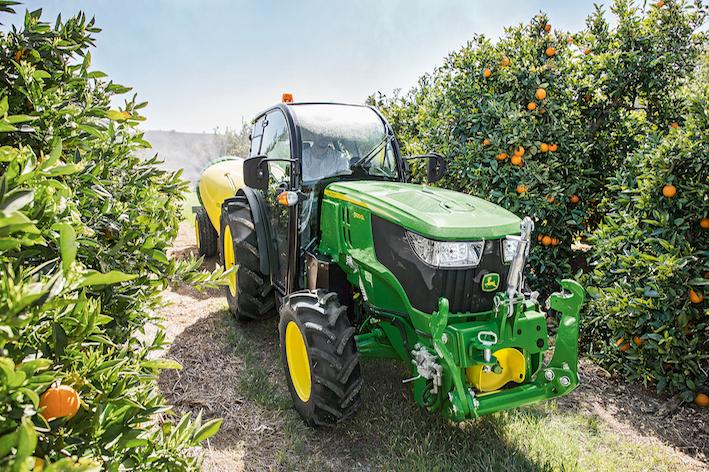 John Deere: i trattori gialloverdi in mostra a Eima International 2018