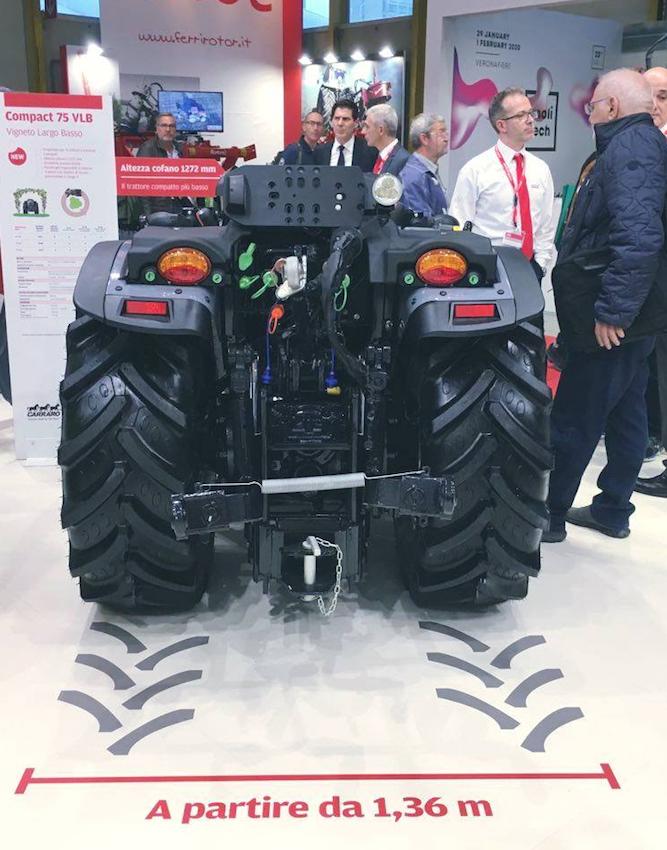 Carraro Tractors: debutta all'Eima la nuova gamma Compact