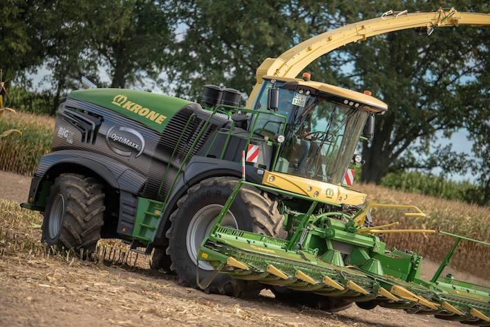 Krone: nuova Big  X 1180, la trincia più potente al mondo con i suoi 1.156 cavalli