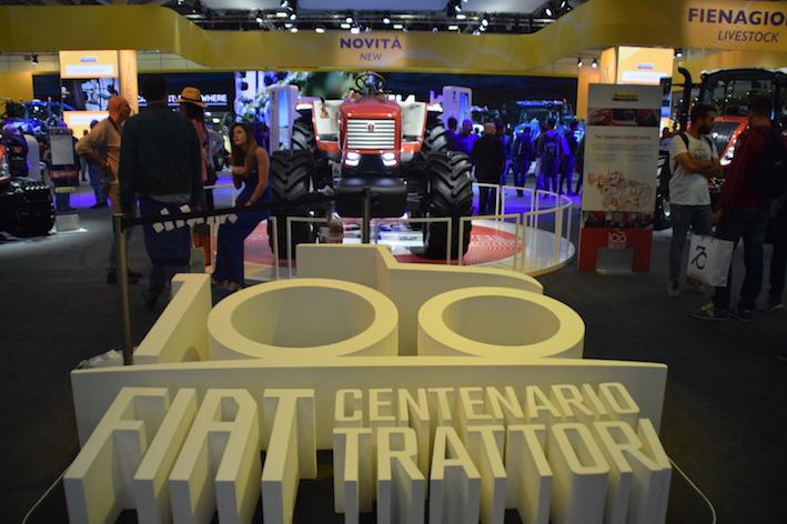 New Holland festeggia i cent'anni di Fiat Trattori