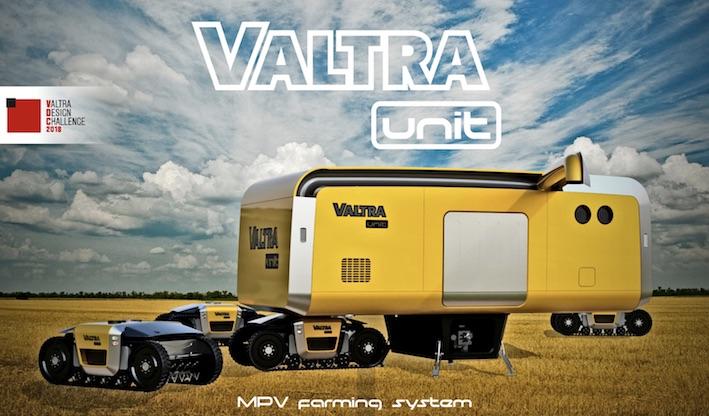 Valtra Design Challenge 2018: premiati all'Eima gli ideatori dei veicoli multiuso del futuro