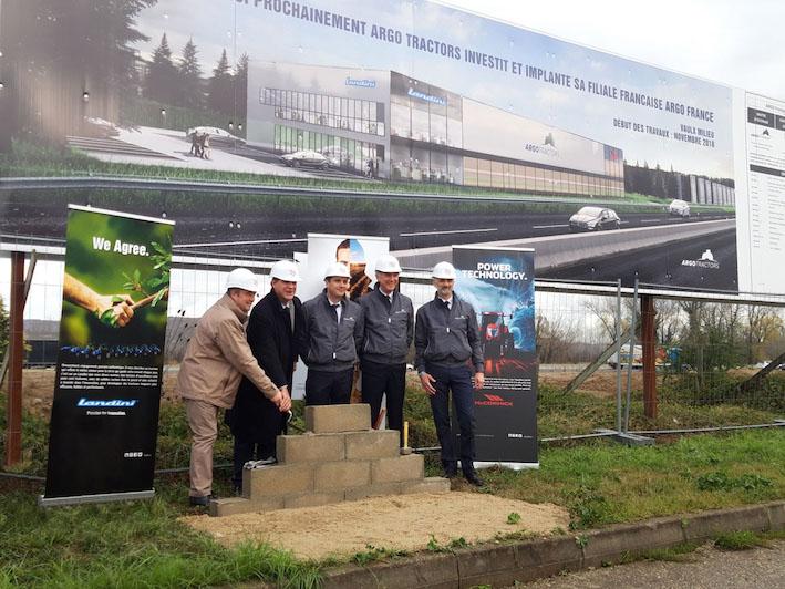 Argo Tractors: al via i lavori per la realizzazione della filiale francese